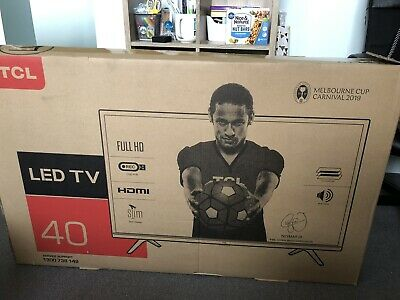 """(Two months old, 6 star energy rating ) TCL 40"""" FHD LED TV"""