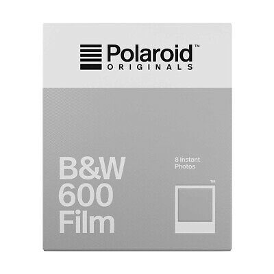 POLAROID 600 Black and White Instant Film for 600, Impulse, iType - 8 Shot Pack