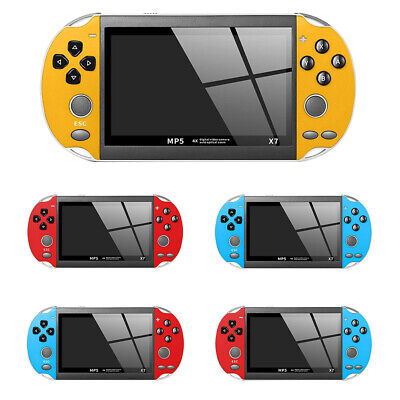 Portable X7 4.3 Inch Retro Classic Game Console Handheld 200 Built-in Games PSP