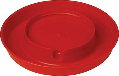 750 Plastic Screw on Water Base Poultry Fountains  Waterers Feeders Game Birds