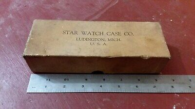 antique colectable STARK WATCH CASE CO box waltham lathe tool clock watchmaker