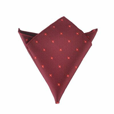 Formal Suit Cotton for Wedding Dress Party Pocket Square Hanky Handkerchief