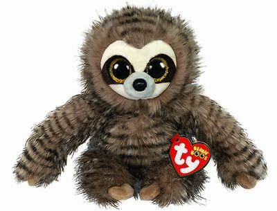Official Ty Beanie Boo Babies Sully Sloth Plush Soft Toy New With Tags