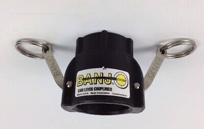 """Banjo 150D Cam Lever Coupling 1Dpl7 Female Thread 1 1/2"""" Free Shipping"""
