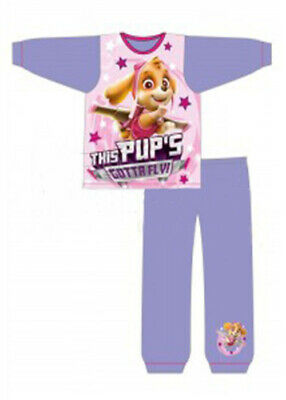 Paws Girls Kids Official Licensed Character Cotton Pyjamas 18/24 2/3 3/4 4/5 yrs