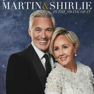 MARTIN & SHIRLIE IN THE SWING OF IT CD (Released November 22nd 2019)