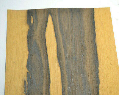 Ziricote Raw Wood Veneer Sheets 7.5 x 45 inches 1/42nd                  G7633-40