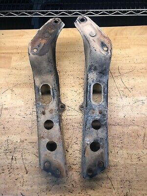 PAIR TCS FRONT TENSION ROD BRACKET SUPPORT FOR NISSAN 90-96 300ZX 89-98 240SX