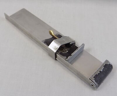 Cefmor, London, Stainless Steel Letterpress Composing Stick - Excellent Quality