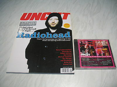 Uncut music magazine # 51 issue 51 August 2001 + cd Radiohead