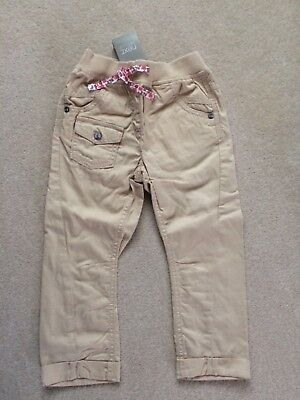 BNWT Next Beige  trousers age 3 - 4 years