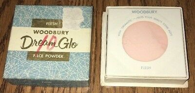 Woodbury Dream Glo Loose Face Powder Flesh Shade A. Jergens Co Sealed Vintage
