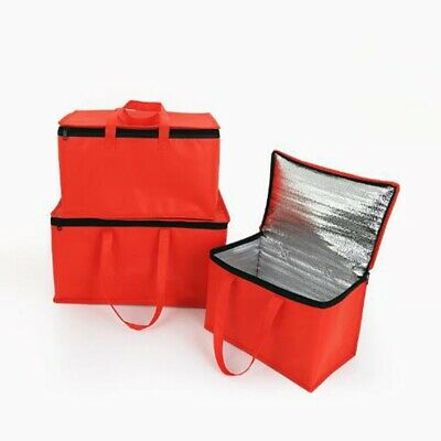 Pizza Food Delivery Bag Insulated Thermal Storage Holder Outdoor Picnic 15''