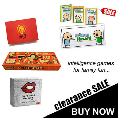 Intelligence Game For Family Fun Social Mafia Lying Card Game Board Game Express