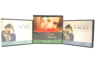 Lot of 3 Audiobook CDs And DVD Joyce Meyer With Teaching Notes
