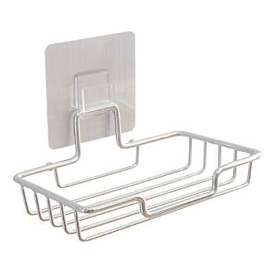 Premium 2 Pack Soap Holder Soap Dish Holder Wall Mount Self Adhesive