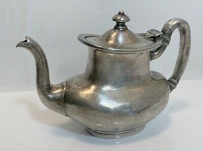 Hotel Dennis Atlantic City Soldered Silver Teapot-Holmes and Edwards