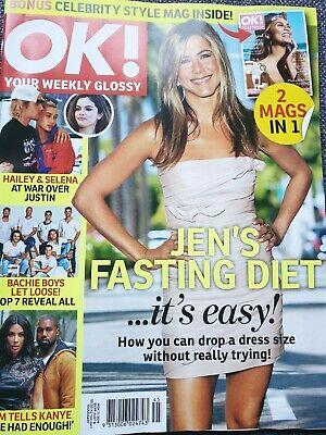 OK! MAGAZINE NOVEMBER 11TH 2019 FREE POSTAGE UN-READ JENS DIET special price