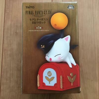 Final Fantasy XIV FFXIV Moogle Letter Post Box Clock TAITO 2017 Crane Game Prize
