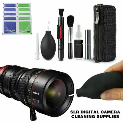 10 in1 DSLR Pro Camera Lens Cleaning Kit for Nikon Canon Sony Panasonic AU