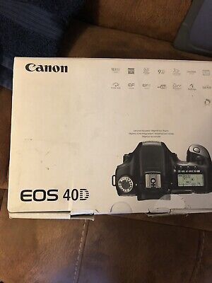 Canon EOS 40D 10.1MP Digital SLR Camera 8000 Shots With Canon 18-55mm IS  Lens