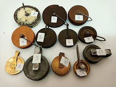 Vintage & antique clock parts for the clock makers, clock rolls