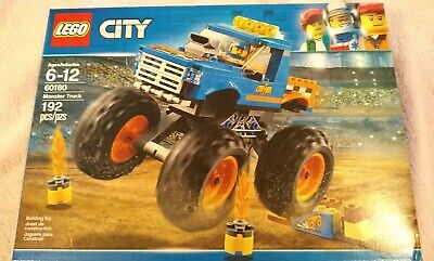 LEGO® City Great Vehicles - Monster Truck 60180 192 Pcs new in unopened box