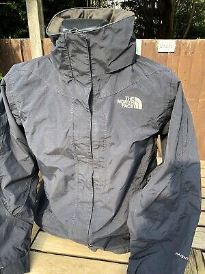 The North Face HyVent Rain Jacket Coat Size Small Waterproof Windproof Outdoors