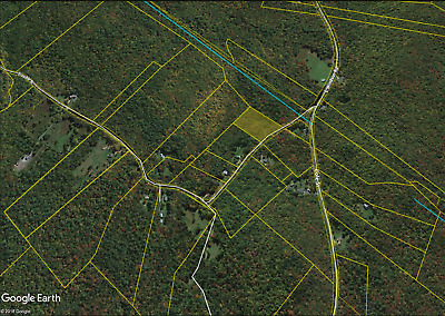 3.88-Acre Land Walking Distance from Blueberry Farms in Cummington, MA!