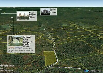 5 Acres Vacant Lot in Middlefield, MA! Financing Available