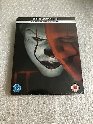 Stephen King's It Chapter 1 (2017) 4K Zavvi Steelbook ''Brand New Sealed''