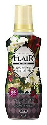 Kao Japan FLAIR FRAGRANCE Laundry Fabric Softener Velvet & Flower 570ml