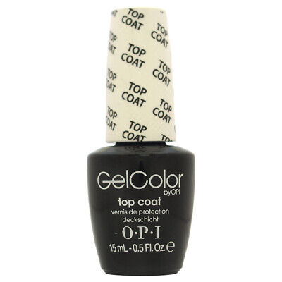 GelColor Soak-Off Gel Lacquer - 030 Top Coat by OPI for Women 0.5 oz Nail Polish