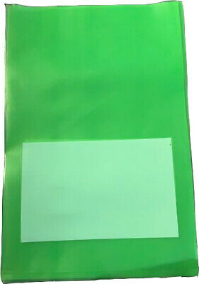 Green Plastic Bags, Sampling Plastic Bags 100pcs