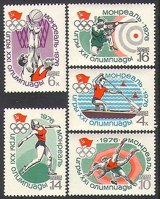 Russia 1976 Olympic Games/Basketball/Shooting 5v n29132