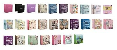 4x6 Large Slip In Memo Photo Album Hold 200 Photos Pack Of 2 Choose Cover Design