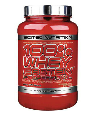 (20,53 EUR/kg) Scitec Nutrition Whey Protein Professional 920g Dose Eiweiß BCAA