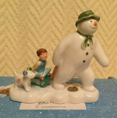 NEW: John Beswick - The Snowman  - The Snowman, Billy and the Snowdog JBS7