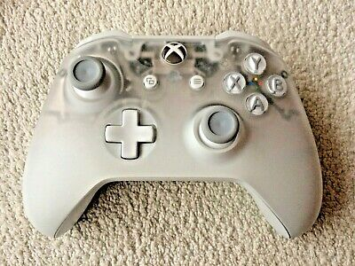 Official Xbox One Wireless Controller - Phantom White Special Edition
