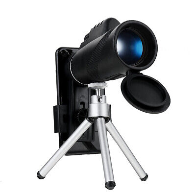 IPRee® 40X60 Monocular HD Optic Day Night Vision Telescope With Phone Clip