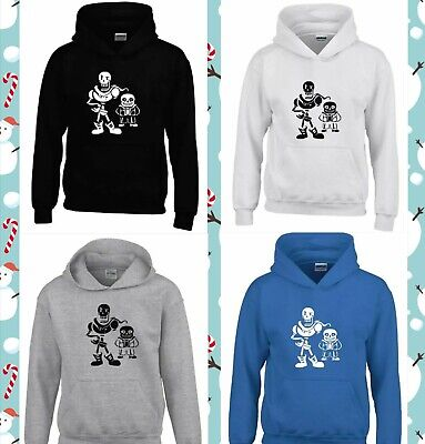 Undertale sans and papyrus youtuber birthday gift Boys Girls unisex hoodie top