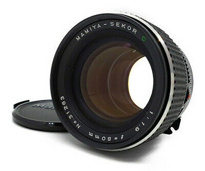 【NEAR MINT++】 Mamiya Sekor C 80mm f/1.9 for 645 1000S Super Pro TL From Japan