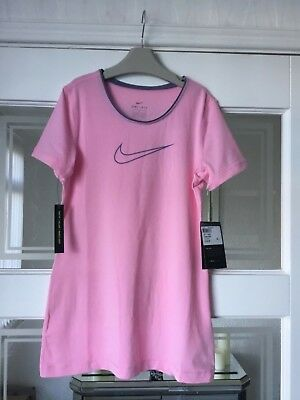 Girls Nike Tight Fit T-Shirt Size 12-13 Years