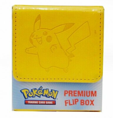 Pokemon Flip Box Yellow Pikachu - Deckbox für PKM Decks Deck Box