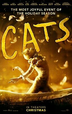 Cats movie poster (b)  - 11 x 17 inches