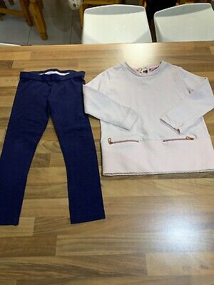 Girls Ted Baker Outfit, Age 4-5 Years. VGC