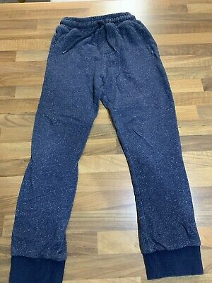 Boys NEXT Blue Joggers, Age 9. VGC