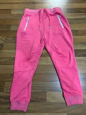 Girls Pink NEXT Joggers, Age 5. VGC