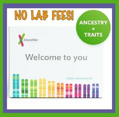 23andMe DNA Test ANCESTRY & TRAITS *Includes Lab Fees *