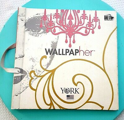 YORK Glam, Shoes, Purses, Snakeskin, Lipstick, Wallpaper Sample Book Paper Crafs
